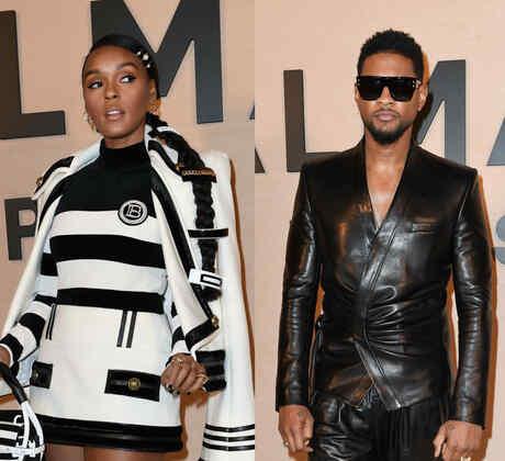 Janelle Monáe, Usher, Larsen Thompson, Paris Fashion Week 2020