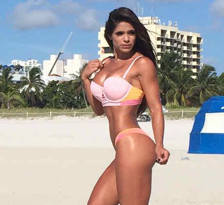 """Michelle """"La Cuerpa"""" Lewing, la fisiculturista latina más famosa del mundo"""