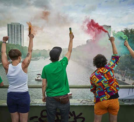 Unofficial Gay Pride Celebrations Proceed In Paris Despite Cancellation