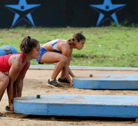 Marisela Cantú y Lorena Abreu Exatlón EEUU