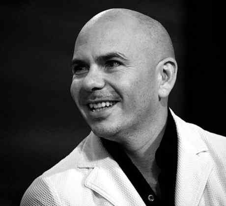 Pitbull en blanco y negro