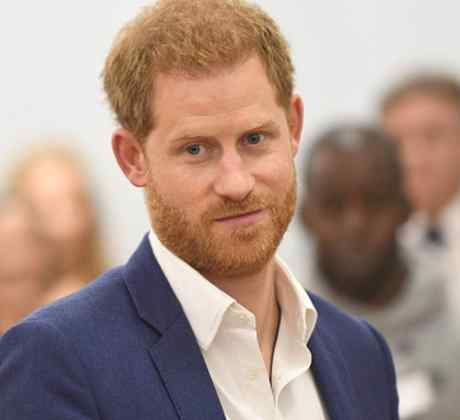 Príncipe Harry en el Día Mundial de la Salud Mental en 2019