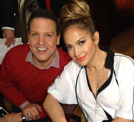 Raul Gonzalez y Jennifer Lopez Selfie