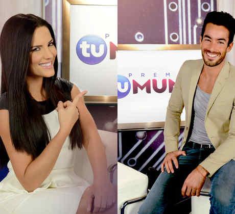 Aarón Díaz y Gaby Espino serán los presentadores de los Premios Tu Mundo 2014