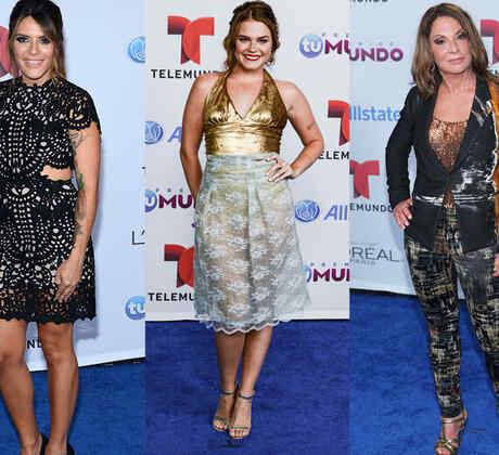 Las 10 peor vestidas de la alfombra azul de Premios Tu Mundo 2014