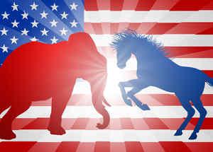 animales partido democrata partido republicano