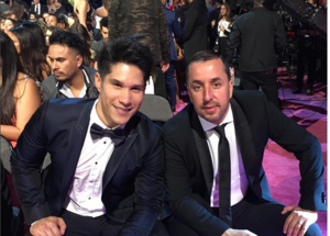Chino junto a Pablo Villalobos