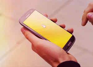 Snapchat en movíl