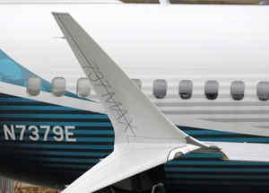 Un Boeing 737 Max en un imagen de archivo