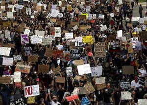 Protestas en San Diego (California).
