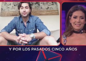 Patricia Manterola llora con mensaje de su esposo