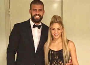 Shakira y el futbolista Gerard Piquéno podían faltar al evento