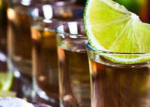 Vasos de tequila