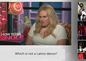 "Rebel Wilson de la película ""How to Be Single"" se puso a prueba en el Latino IQ"