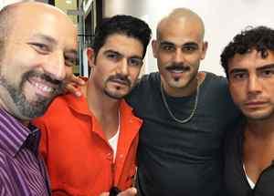 Tony Garza, Pepe Gámez, Chrsitopher Millán, Ricardo Kleinbaum en Mariposa de Barrio