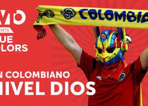 True Colors: Fan Colombiano nivel Dios