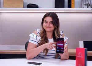 Alix Aspe y Motorola Z3 Play