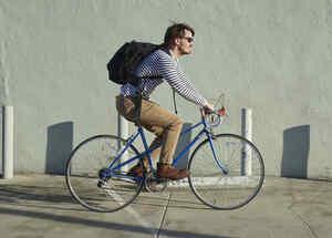 En esta ciudad podrás ganar dinero andando en bicicleta