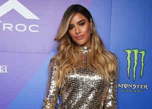Ariadna Gutiérrez en la fiesta de los Billboard Latin Music Awards 2019