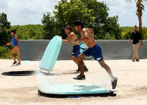 Daniel Osbahr compitiendo contra Jay Flores