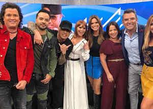 """Alejandra Guzmán, Wisin, Luis Fonsi y Carlos Vives acudieron al programa """"Un nuevo día"""""""