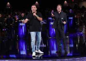 """Cristian Castro y Dante Gebel en """"River Church"""""""