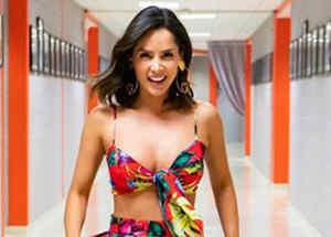 Carmen Villalobos sonriendo