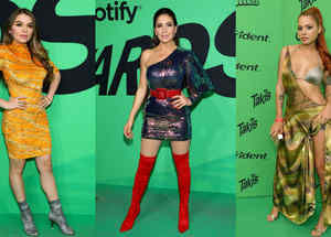 Spotify Awards looks sexis