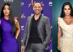 Cardi B, Will Smith y Kim Kardashian