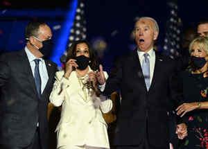 Joe Biden y Kamala Harris ganan