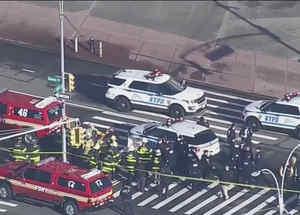 Cierran calles por un vehículo sospechoso en Nueva York