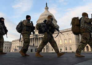 Guardia Nacional resguarda el Capitolio