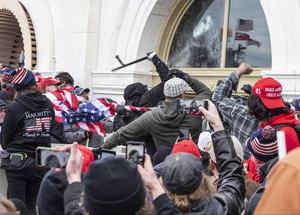 Atacantes al Capitolio