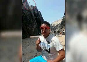 Hombre cae mientras escalaba en Perú
