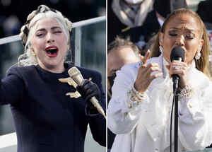 Lady Gaga y Jennifer Lopez cantan en el Día de la Inauguración de Joe Biden