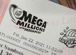 Boleto de lotería Mega Millions