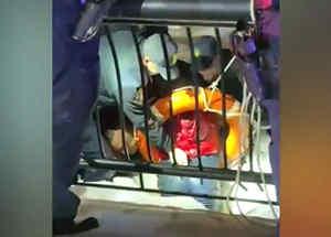 Rescatan a una joven que cayó al Río Hudson en Nueva Jersey