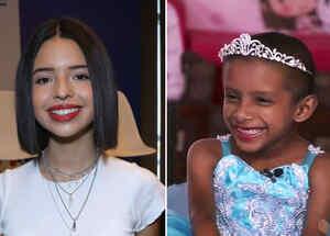 Ángela Aguilar ayuda a una niña con cáncer a cumplir un sueño