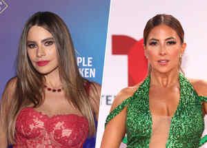 Sofía Vergara y Stephanie Himonidis