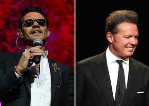 Marc Anthony y Luis Miguel