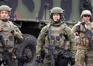 Soldados de la Guardia Nacional