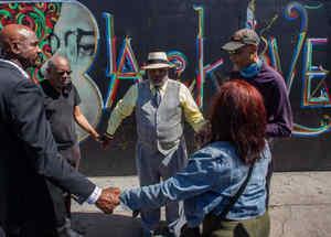 Líderes negros recuerdan a Floyd a un año de su muerte