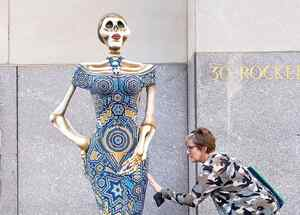 El Día de Muertos se celebra en el Rockefeller Center