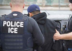 El Servicio de Inmigración y Aduanas (ICE, en inglés) en una foto de archivo.