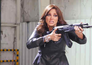 Blanca Soto, Sara Aguilar, armada, Señora Acero 2