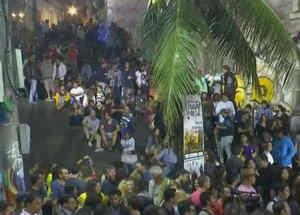 brasileños celebrando rio 2016