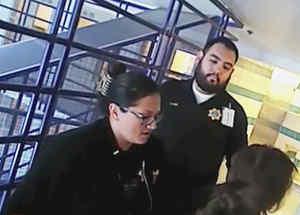 video maltrato policial
