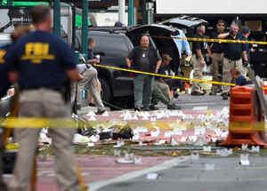 Se investiga ataque con bomba en Nueva York