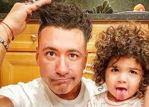 Jorge Bernal e hija