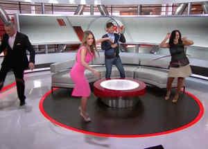 Equipo de ARV baila el Hula Hoop de Daddy Yankee